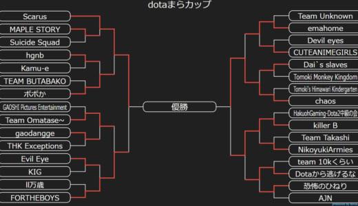 Dota 2大会『Dotaまらカップ2018 in Tokyo』オフラインファイナルは「Scarus」vs「chaos」に決定、7/28(土)に東京・パズル浅草橋で開催