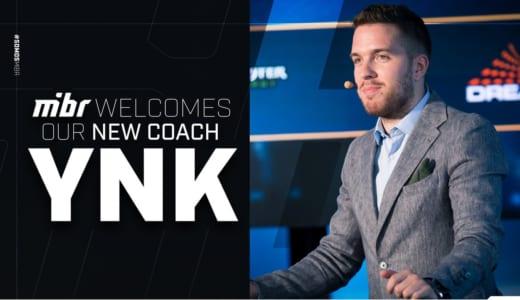 『MIBR』CS:GOチームのヘッドコーチに有名解説者のYNk氏が就任