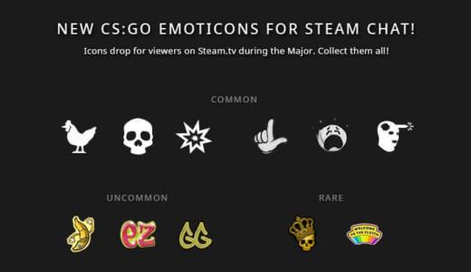 「Steam.tv」で『FACEIT Major: London 2018』を観戦するとCS:GO絵文字が手に入るキャンペーンがスタート