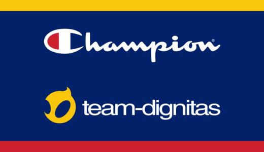 プロゲームチーム『Team Dignitas』がスポーツウェアブランド「Champion」と複数のパートナーシップ契約を締結
