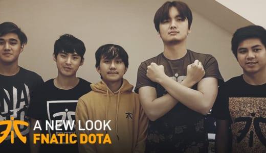 『Fnatic』がDota 2部門 2018-2019シーズンの新メンバーを発表、iceiceice、jabz、MPが加入