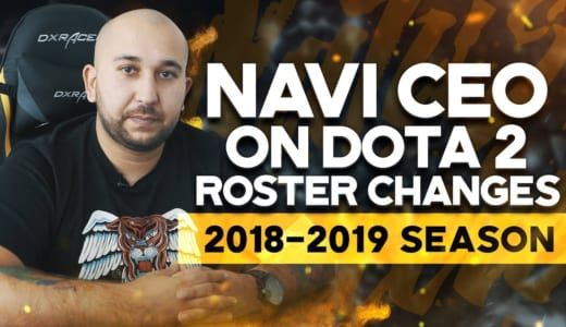 『Natus Vincere』Dota 2部門が新ラインナップを発表、8年間チームに所属のスター選手Dendiは選ばれず