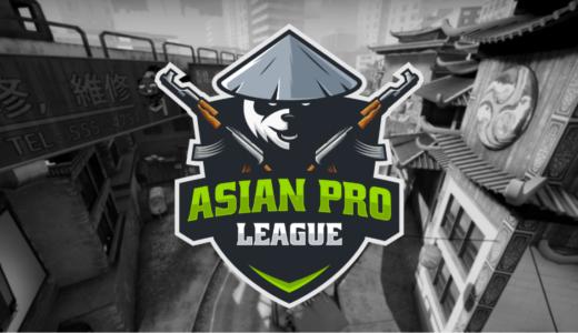 CS:GO『Asian Pro League』が『FACEIT』プラットフォームでスタート、日本も参加可能