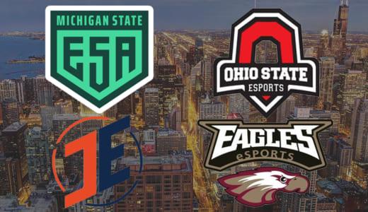 全米No.1大学を決定するCS:GO大会『IEM Chicago Collegiate Invitational』決勝戦が『IEM Chicago 2018』会場で開催