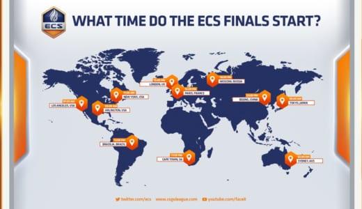 CS:GO『ECS Season 6 Finals』が11月23日(金)0時よりスタート
