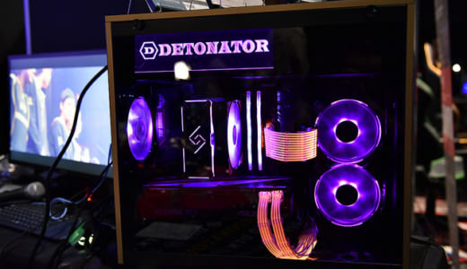 プロゲームチーム『DeToNator』コラボモデルのゲーミングPCが「サイコム」から登場予定、『C4 LAN 2018 WINTER』で先行展示