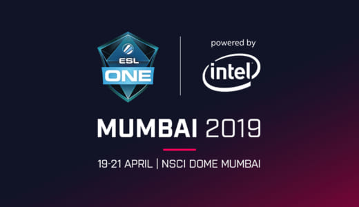 Dota 2大型大会『ESL One Mumbai 2019』がインド・ムンバイで2019年4月19~21日に開催