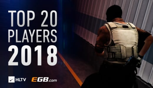 ムービー『HLTV.ORG'S TOP 20 PLAYERS OF 2018』