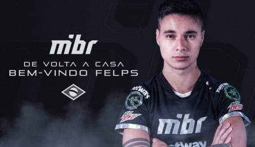 CS:GO『MIBR』の2019年ラインナップが決定、tarikに代わりfelpsが5人目として加入、全員ブラジル人構成に