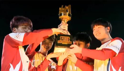 アジア大会『PUBG Asia Invitational 2019』で韓国Actoz Stars Redが優勝、日本代表はCrest Gaming Xanadu 11位、SunSister Suicider's 16位に