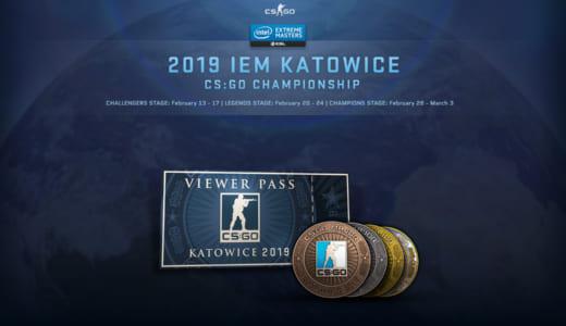 CS:GOアップデート、メジャー大会『IEM Katowice 2019』の観戦パスやステッカーアイテムの販売開始