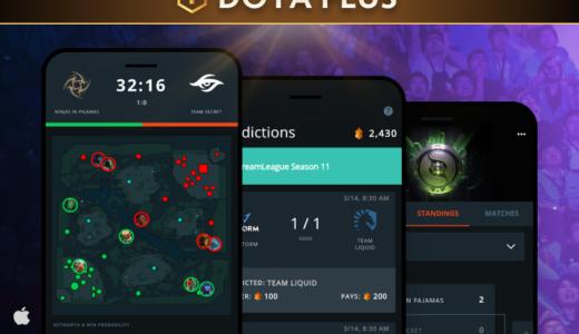 『Dota 2』有料サービス「Dota Plus」加入者向けに『Dota Pro Circuit』の公式モバイルアプリが登場