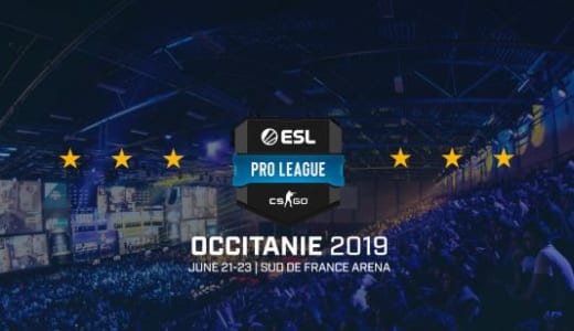 CS:GO『ESL Pro League Season 9 Finals』、2019年6月18~23日にフランス・モンペリエで開催