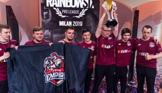 世界王者決定戦『Rainbow Six Pro League Finals Season 9』優勝は「Team Empire」、日本「野良連合」はベスト8に