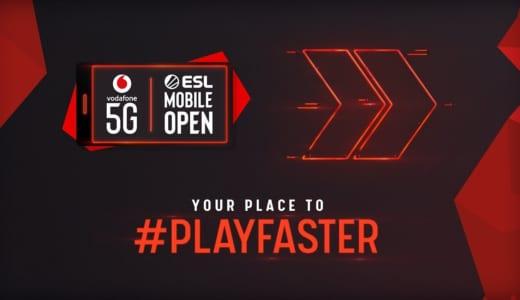 次世代移動通信「5G」を使用する国際モバイルeスポーツ大会『Vodafone 5G ESL Mobile Open』が「PUBG MOBILE」と「Asphalt 9」を採用し開催