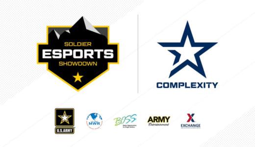 『Complexity Gaming』が「アメリカ陸軍」と提携、兵士のストレス発散や個人的成長につながるesportsプログラムを提供