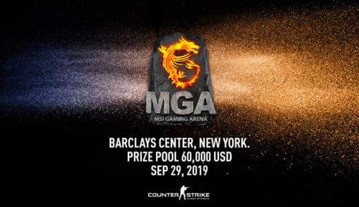 CS:GO『MSI Gaming Arena (MGA) 2019』開催、オープン方式のアジアパシフィック予選が2019年7月よりスタート
