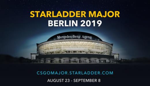 CS:GOメジャー大会『StarLadder Berlin Major 2019』出場24チームが決定、2019年8月23日(金)より開幕