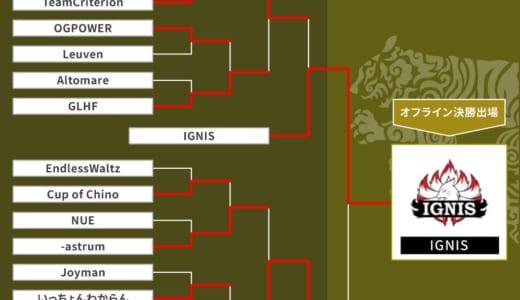 CS:GO『GALLERIA GLOBAL CHALLENGE 2019』予選で「Ignis」「Absolute」が優勝、オフラインプレーオフの出場権を獲得