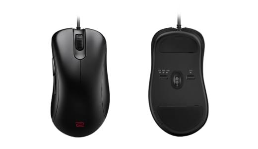 『ZOWIE』が右利き用ゲーミングマウス「EC-1」「EC-2」を発表、「EC」シリーズを統合へ?