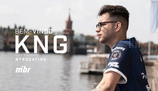 CS:GO『MIBR』が「kNg」選手の加入を正式発表