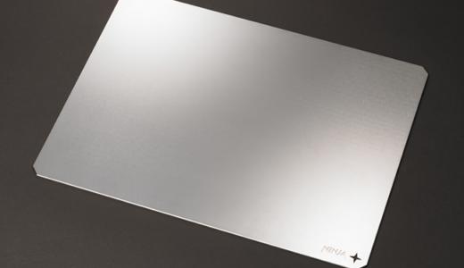 超平面の金属製ゲーミングマウスパッド「NINJA RATMAT」が2019年10月より受注開始、価格は6万円以上を予定、「TGS2019」で製品体験コーナーを展開