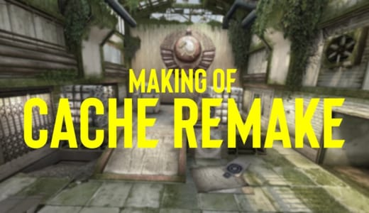 CS:GOリメイク版マップ『CACHE』が2019年10月10日に正式リリース