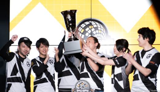 CS:GO『GALLERIA GLOBAL CHALLENGE 2019』で『Absolute』が3連覇を達成し国際大会出場権を獲得、「とんでもないブースティング」なども飛び出し観客大熱狂