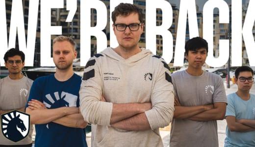 『Team Liquid』がDota 2部門2019-2020年シーズンの新メンバー発表、元『Alliance』のメンバーが加入