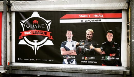 『Quake Pro League Season 1 Stage 1 Finals』が2019年11月2日(土)~3日(日)にイタリアで開催