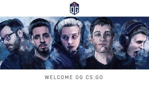 Dota 2世界最強チーム『OG』が「CS:GO」に進出、NBK-、valde、Aleksib、ISSAA、mantuuと契約