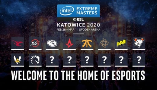 CS:GO世界大会『IEM Katowice 2020』招待出場10チーム発表