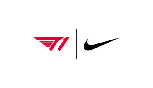 韓国プロeスポーツチーム『T1』と「Nike」がグローバルパートナーシップ契約を締結