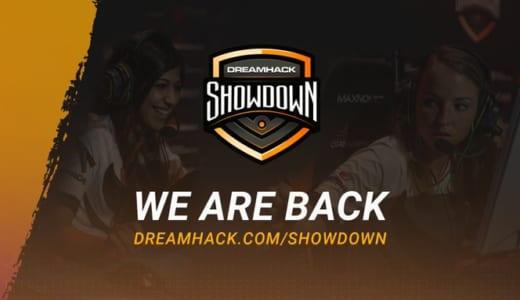 女性CS:GO大会『2020 DreamHack Showdown』アメリカ・ヨーロッパを対象オンラインで開催