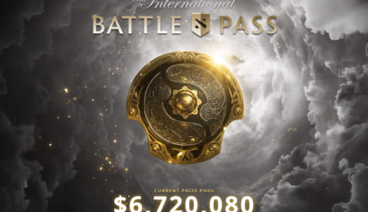 Dota 2世界大会関連アイテム『The International 10 Battle Pass』発売開始、売上配分で大会賞金総額が早くも「7.2億円」を突破