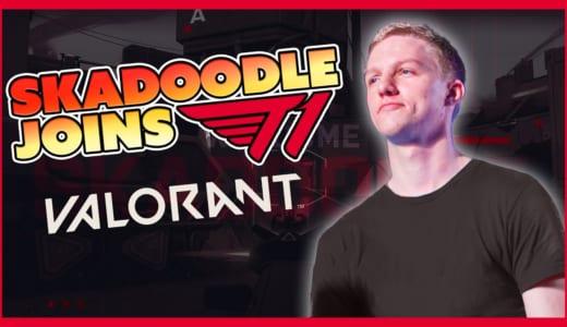 『T1』VALORANT部門最後の1人は「Skadoodle」、『AVA』『CS:GO』世界一の実績を持つスナイパー