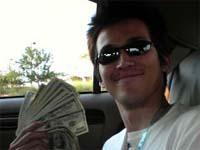 ベガスのカジノで一攫千金の松崎氏