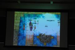 試合中のゲーム画面
